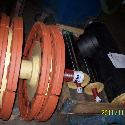 Becherwerk - Becherwerk mit Kettenrad (022)