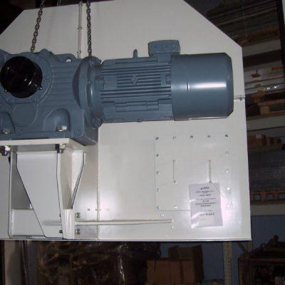 Becherwerk - Becherwerkskopf mit Antrieb (017)
